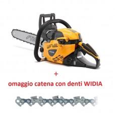 """Motosega STIGA SP466, per utilizzo semiprofessionale, 2.72 HP, barra 18"""", solo 6.3Kg completa di barra e catena + OMAGGIO catena di scorta con denti WIDIA"""