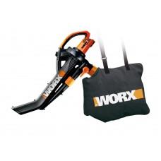 Nuovo Soffiatore e aspirafoglie elettrico WORX WG505E 340km/h! - Potentissimo - Girante in metallo