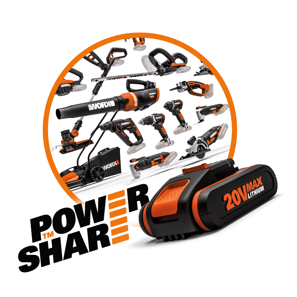 worx powershare logo